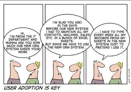 Dilbert CRM User Adoption