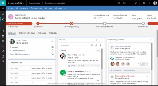 Microsoft Dynamics 365/CRM July 2017 Update